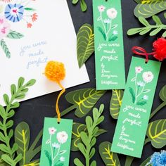 We were inspired by Drew Barrymore's Wildflower book to create a printable quote and bookmark. Download for free!