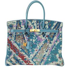 Enter the world of ARTBURO and discover the latest in Collections, Personalization, Exceptional Pieces. Hermes Birkin, Hermes Bags, Hermes Handbags, Purses And Handbags, Beautiful Handbags, Beautiful Bags, Birken Bag, Painted Bags, Hand Painted