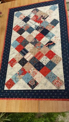AMERICANA Home Decor' quilted table runner for sale in my ETSY shop. Ready to ship!
