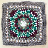 When you wish upon this twinkling star you'll add a little sparkle to any afghan.