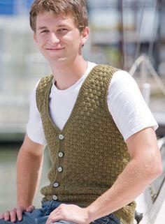 Men's Swish #Crochet #Vest