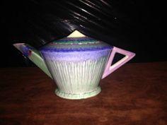 Art Deco Shelley Dripwear Drip Wear Harmony Teapot Tea Pot