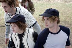 Twilight Movie Still - The Cullens play baseball