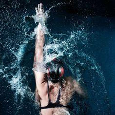 Minimize Head Movement - How to Swim - Tips from Top Coaches - Shape Magazine Swimming Drills, Swimming Tips, Open Water Swimming, Keep Swimming, Swimming Workouts, Sprint Triathlon, Triathlon Training, Swim Training, Training Plan