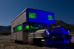 Camping in style   Caddy  Shack