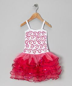 Take a look at this White & Fuchsia Bree Dress - Infant, Toddler & Girls by Fairy Dreams on #zulily today!