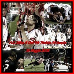 cadeva 10 anni fa... Milan-Juve... Finale di Champions... Manchester... I rigori... Lo sguardo di Sheva... 28 MAGGIO 2003 MILAN CAMPIONE D'EUROPA! JUVE IN GINOCCHIO DINANZI ALLA REGINA D'EUROPA...