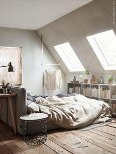 Modern Small Loft Bedroom Designs