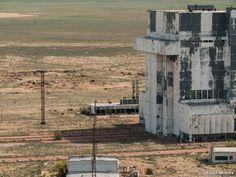 Russia's abandoned Buran space program.
