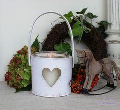 Biela lucerna Srdce