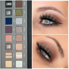 Sultry smokey eye using the Lorac Pro 2 Palette. Click the picture for more product details!
