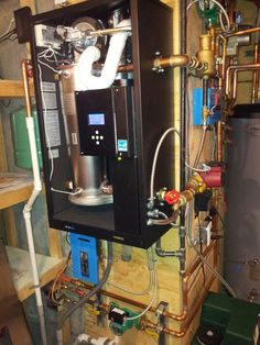 A twin NTI Trinity LX150 boiler package with a Trin & Stor