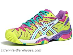 For Women: Asics Gel Resolution 4 Women's Shoes exclusively at Tennis Warehouse.  #tennis
