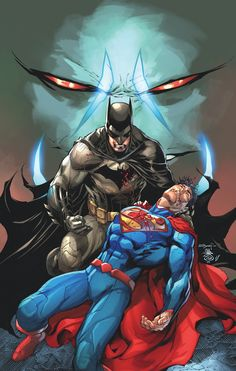 Batman/Superman #17 Cover by Cover by ARDIAN SYAF and DANNY MIKI
