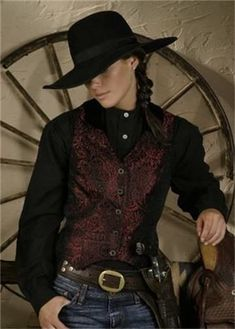 Ladies Old West Vests and Jackets