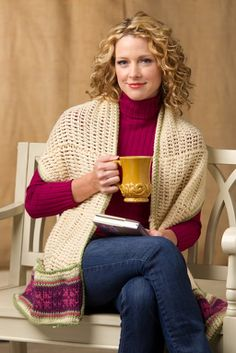 Readers Wrap Knitting Pattern : 1000+ images about Crochet - Gifts on Pinterest Car seat blanket, Baby blan...