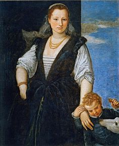 1548 Paolo Veronese (Paolo Caliari) (1528–1588) Woman and her Son