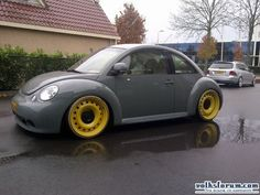 Sweet Cars Fort Wayne In >> Silver and black beetle with red rims | Das New Beetle ...