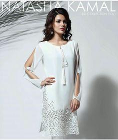 Pakistani Eid outfit by Natasha Kamal.