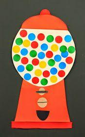 KLASSENKUNST: Classroom Management Die K verdienen durch Verhalten Smileys oder Nielys für die Klassenbelohnungs-Kaugummimaschine