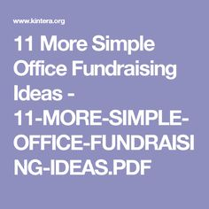 find this pin and more on centre county united way 11 more simple office fundraising ideas