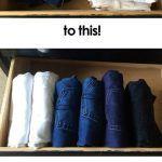 28 trucos organizar los cajones guardarropa