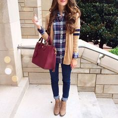 Love this outfit! The cardigan is beautiful!