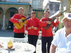During snack in Havana