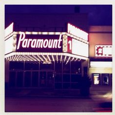 so many memories here at the Paramount in K3