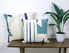 Info Specifications Scottish linen is hand screen printed by Tamasyn and her team in London. Each cushion is made up in the UK by a small British factory and stuffed using feather cushion pads. Hand Screen Printed, Throw Pillows, Cushions, Taupe, Screen Printing, Pillow Cushion, Inspiration, Cushion Pads, Teal