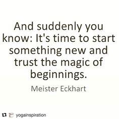 Today's sage advice #happyweekend #dosomethingnew #findthemagic