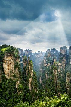 Jiangjiajie, Hunan, China.