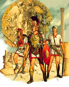 Iberian troops in the Carthaginian Army