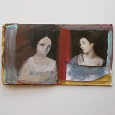 cathy cullis - tiny book pages