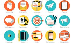 infographics brand marketing icons - Google Search