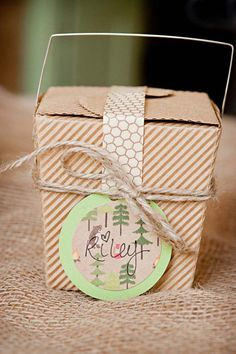 DIY S'mores Kit Favors from The Sweetest Occasion