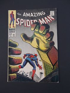 Amazing Spider-Man #67! Silver Age! 1968! Marvel! Stan Lee! Romita! Mysterio!