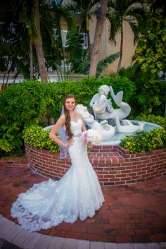 The courtyard at the Tradewinds Island Resort, shot by St Pete Beach photographer, Stacey with Celebrations of Tampa Bay http://celebrationsoftampabay.com/photographers-st-pete-beach/