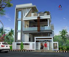 Simple House Design, Simple Designs, Design Design, Modern Design, Online Work, Landscape Design, Floor Plans, 3d, Mansions
