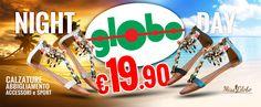 """Di giorno o di notte, lasciati andare alle emozioni dell'estate con i coloratissimi sandali """"MissGlobo""""... a solo 19.90€ !!!"""