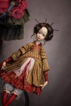 shigeru onda et sa vieille salope audrey st-yves - Bing images Victorian Dolls, Vintage Dolls, Asian Doll, Polymer Clay Dolls, Human Art, Soft Dolls, Custom Dolls, Doll Face, Blythe Dolls