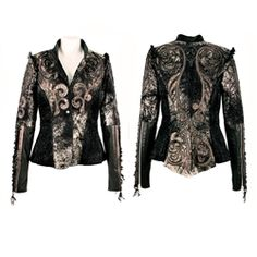 Kippy's Couture Tatoo Marionette Jacket