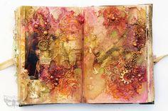 Finnabair: Art Recipe Wednesday: Autumn Landscape or poetry of disintegration?
