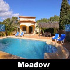Vakantiehuis Calpe Costa Blanca Villa Spanje huren Meadow