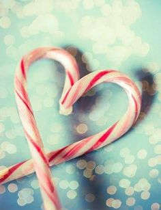 Group Of Candy Cane Hearts Wallpaper