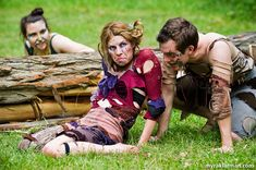 Shakespeare in the Arb: A Midsummer Night'sDream | Three Pucks for the price of one. I loved how this mischievous threesome moved and dance...