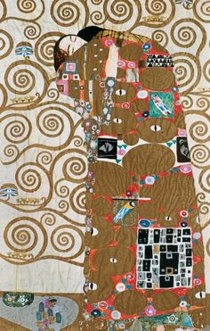 Klimt The tree of life Berlin, Forest Stewardship Council, Gustav Klimt, Interior Lighting, Tree Of Life, Art School, Art Projects, Mosaic, Arts And Crafts