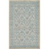 Found it at Wayfair - Salzburg Aqua Area Rug