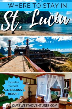 St. Lucia is the perfect honeymoon destination because of all the amazing things to do. In addition, St. Lucia also has the BEST luxury all-inclusive resorts such as Sandals and Jade Mountain - the very best resort in the entire Caribbean! So when you travel and stay in St. Lucia for vacation, you will truly be in paradise.