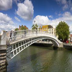 Dublim - Ponte da Universidade Dublin City University